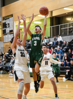 Gallery: Boys Basketball Cedar Park Chr. (MLT) @ Lummi Nation